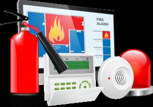 Обслуживание пожарных сигнализаций и противопожарных систем
